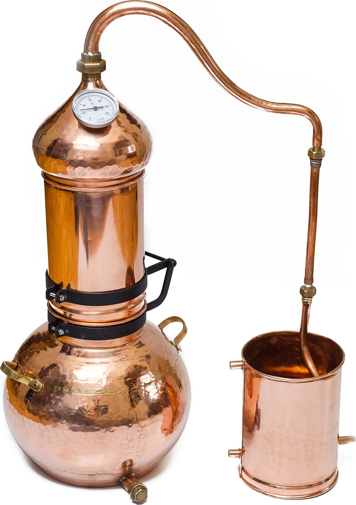 Elite distiller made by hand.