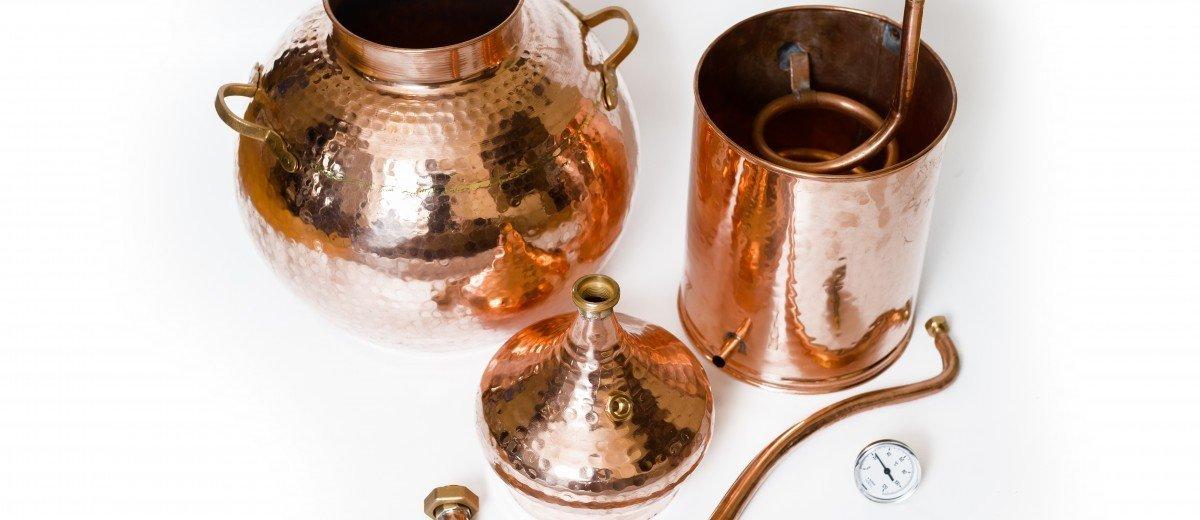 Portuguese Copper Alambic